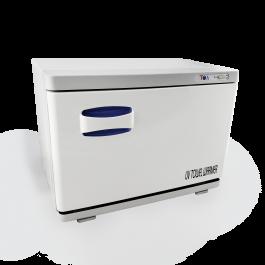 TOA Spa Beauty Salon Equipment UV Light Sterilizer Hot Towel Warmer Cabinet w/ Tray 2 in 1 (18S)