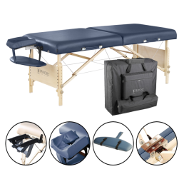 "Master 30"" Coronado Folding Portable Spa Massage Table Package"