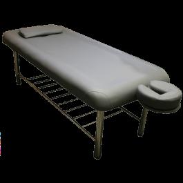 Spa Stationary Massage Table - Gray