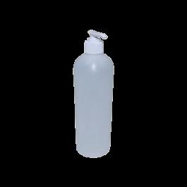 Clear Empty Plastic Bottle w/ Pump - 8oz