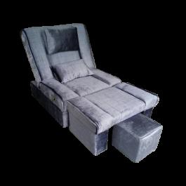 MULA-09 Fabric Adjustable Reclining Foot Massage Sofa w/ Lines