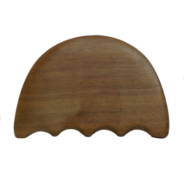 Wooden Gua Sha Body Massage Board- Comb
