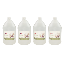 TOA Soothing Hydrating Natural Body Spa Massage Mineral Oil For Professional Massage Therapists Unscented Bottle of 4 Gallons Free Shipping