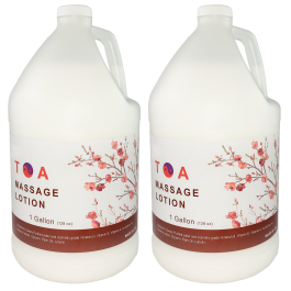 Body Massage Lotion- Unscented  2 Gallon Free Shipping