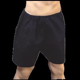 """Men's Disposable Underwear Boxers- 42"""" Waist Navy Blue 100pcs"""