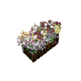 Flower Set W/Box -Medium
