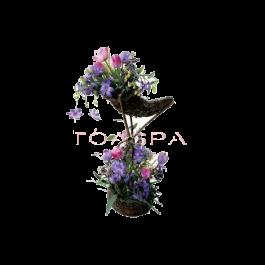 Bride Flower -Purple