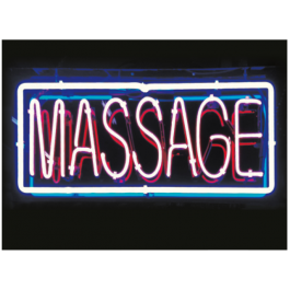 Massage Neon Sign