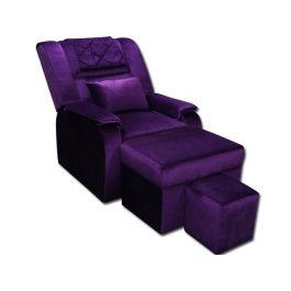 MULA08-02 Fabric Reclining Foot Massage Sofa w/ Armrests