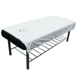 "6pc/pkg Flat Sheets Reusable Massage Table Cover 71""x44"""