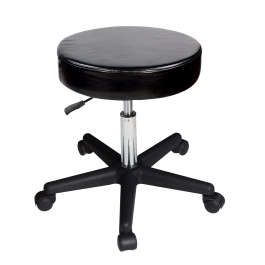 Master Beauty Rolling Swivel Hydraulic Massage Stool (Black) Free Shipping