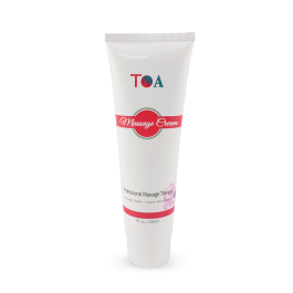 TOA Unscented Cream Massage Hydrating Body Spa Jar Bottle (7oz)