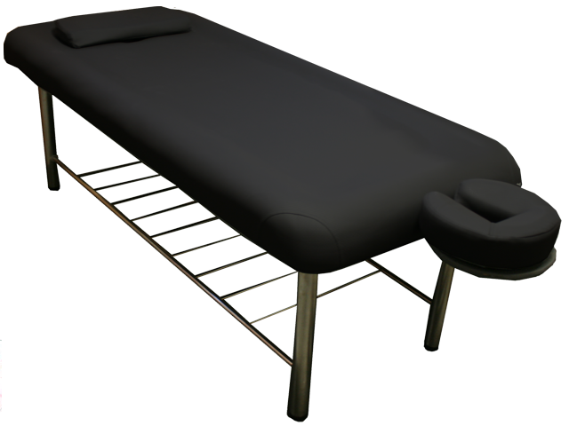Earth Gear Massage Table http://www.toaspa.com/stationary-therapeutic-massage-table.html