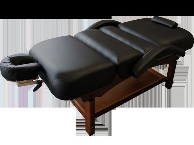 Stationary Self Adjustable Flexible Armrest Massage Table