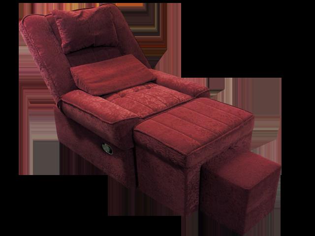 Szmu 02 Fabric Reclining Foot Massage Sofa W Lines