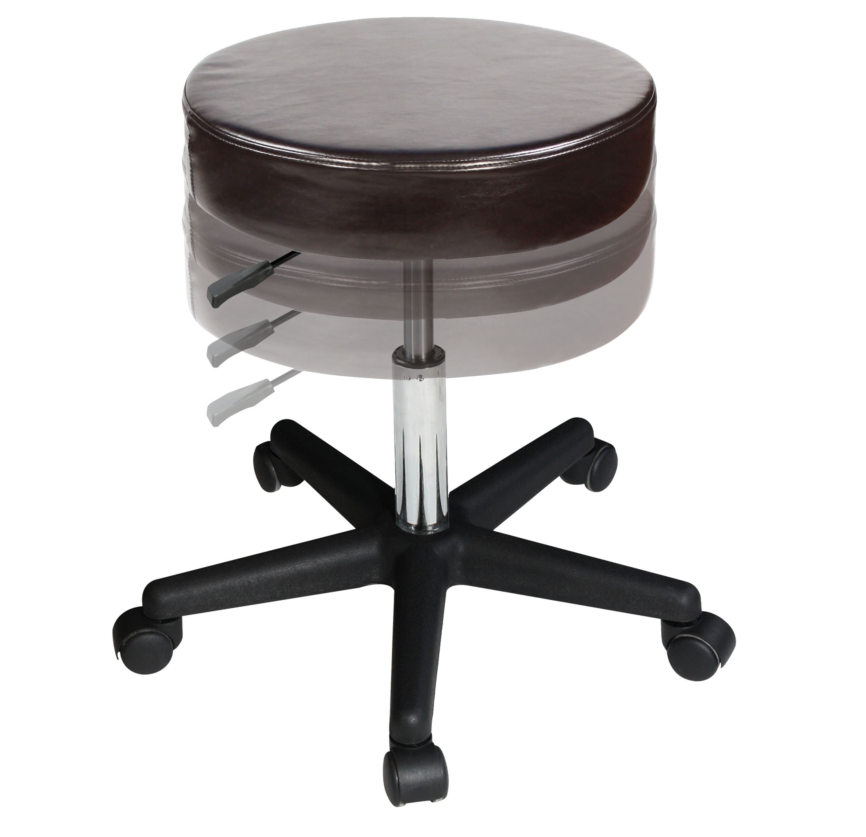 Beauty Rolling Swivel Hydraulic Massage Stool Massage Spa