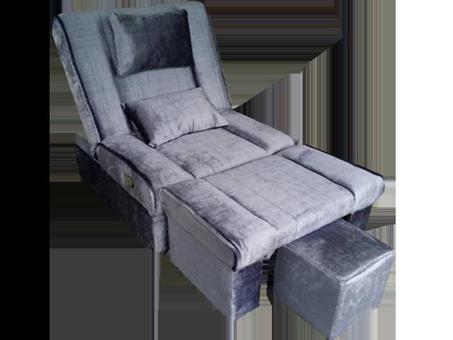 Mula 09 Fabric Adjustable Reclining Foot Massage Sofa W Lines