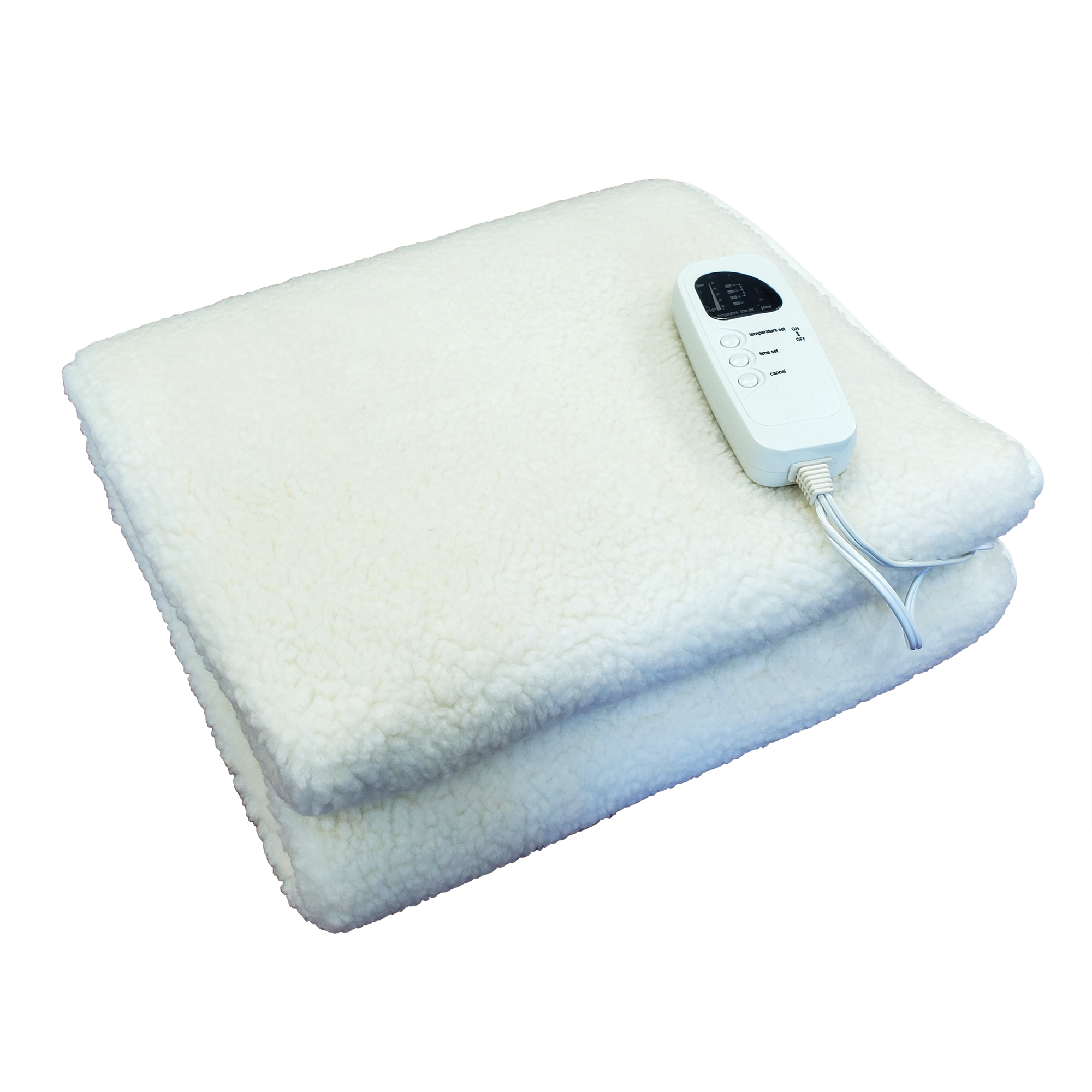 TOA Massage Table Warmer Fleece Pad Cover Blanket- 5 Heat Settings