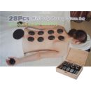 28pc Hot Stone Massage Therapy Set