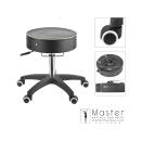 Master Adjustable Rolling Working Massage Salon Medical Stool