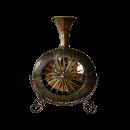 Wheel Design Metal Vase With Stand