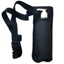 Single Bottle Holster Adjustable Strap w/ 6oz Bottle for Oil, Lotion, Cream Free Shipping