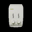 2 Chamber Dispenser - Solid White