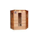 4 Person Therapy Corner Sauna