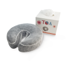 TOA Supply Fitted Disposable Face Cover 50pc Spa Massage Crescent Head Rest Medical-Grade Non-Sticking for Cradle Cushion