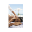 XL Back Massage Umbrella Ocean View Picture Poster