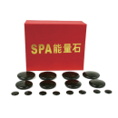 16 pc Polished Hot Stone Massage Therapy Kit