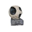 Indoor Outdoor Tabletop Stone Garden Waterfall Fountain- Sphere