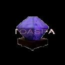 Purple Small Decorative Lamp