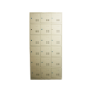Heavy Duty Metal Compartment Locker - 18 Lockers Thick