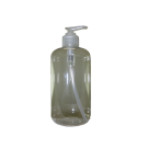 Clear Empty Bottle w/ Pump - 16 oz