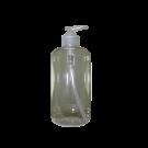 Clear Empty Bottle w/ Pump - 16 oz