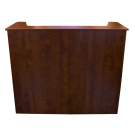 Beauty Spa Reception Desk- Cherry