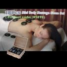 18pc Basalt Polished Hot Stone Massage Therapy Set