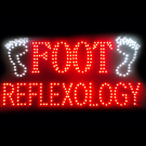 LED Foot Reflexology Sign
