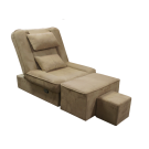 Soft Fabric Adjustable Reclining Foot Massage Sofa- With Lines