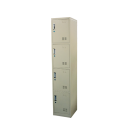 Heavy Duty Thick Compartment Locker - 4 Lockers