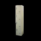 Heavy Duty Thick Compartment Locker - 4 Lockers