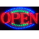 LED Flashing Open Sign