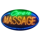 LED Flashing Open Massage Sign