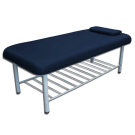 STATIONARY MASSAGE TABLE W/ TRAY RACK- METAL FRAMED 1 Blue Tables Free Shipping