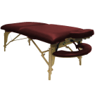 EarthGear Pinnacle Massage Table -Berry