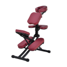 Rio Portable Folding Massage Chair for Spa Tattoo w/ Rolling Case (Burgundy) FREE SHIPPING