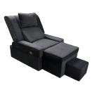 Fabric Adjustable Reclining Foot Massage Sofa- No Lines