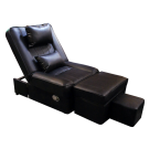 PVC Reclining Foot Massage Sofa- With Lines