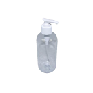 4 Bottles Clear Empty Bottle with Pump - 8oz Free Shipping
